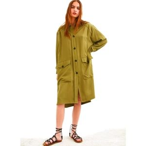 🌟Host Pick🌟Long overshirt with pockets outawere
